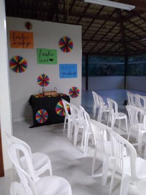aluguel de espaço para festa em Santa Luzia