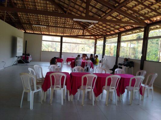 locação de espaço para eventos em Santa Luzia