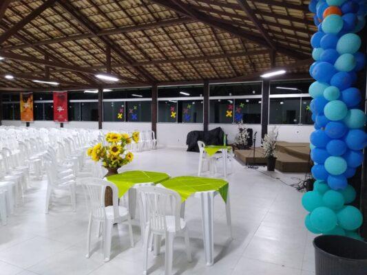 locação de espaço para eventos empresariais em Santa Luzia